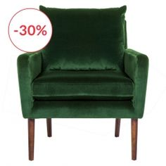 Fauteuil  accoudoirs Jack tweed