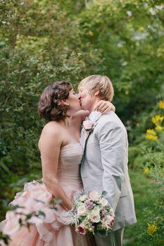 Maine Same Sex Wedding by Emily Delamater Ruffled
