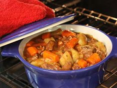 Wintry Baked Beef Stew - A comforting one-dish meal! The secret ...