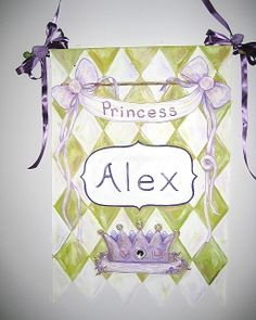 Personalized Child's Artwork That You Design