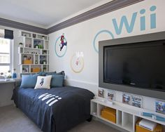 1000 images about ideas for a gamer bedroom on pinterest for Cool gamer bedroom ideas