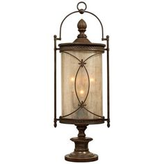 Valais Collection 36 1/2  High Outdoor Pier Mount Light -Hand-wrought  sc 1 st  Pinterest & 26 best High End Light Fixtures Installed by Dallas Landscape ...