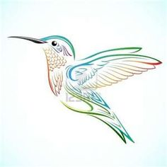 When I was a girl and couldn't sleep, my dad would tell me how when humming birds migrated south for the winter, they would get tired and sleep on the backs of geese. Now whenever I see humming birds, I think of my Dad. This most definitely needs to be a tattoo of mine.