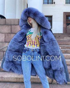 Fur Lined Coat, Fox Fur Coat, Fur Hats, Down Parka, Furs, Hoods, Faux Fur, Collars, Indigo