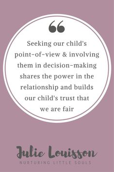 Just one way that nurturing a positive relationship makes it easier to discipline kids - Julie #julielouisson #spiritualparenting #discipline