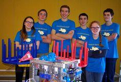 Pleasant Hill High robotics team wins state tournament, heads to regional competition. Go Billies!