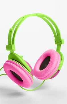 Decor Craft Colorblock Headphones available at #Nordstrom