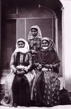 Armenian women in Iran during Qajar era, 1873