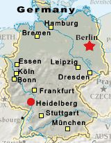 map of places to go in germany