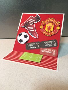 Soccer card Manchester united
