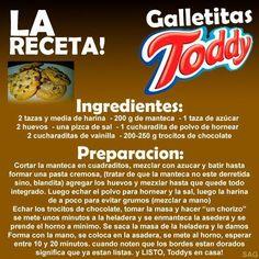 Galletitas Toddy