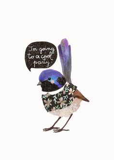 Party Bird by Daniela Dahf Henriquez