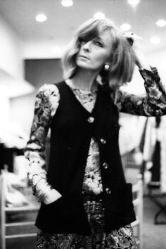 Rykiel at Laura (store) in 1967.