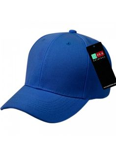 94b37fe0ac0 Plain Baseball Cap Blank Hat Hats Solid Color Velcro Adjustable - Royal -  C212NTC84HC