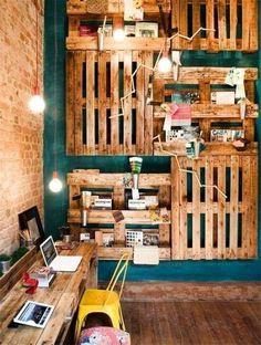 Decoracion con paletas de madera google search house for Muebles de paletas recicladas