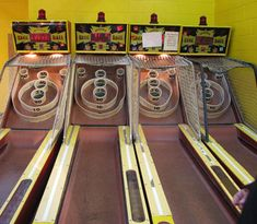 Skee-Ball , I still love to play this! Remember you & Lukie putting your tickets together for a better prize.