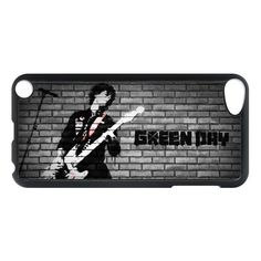 Green day Billie Joe Armstrong with Guitar Apple Ipod 5 touch case, US $16.89