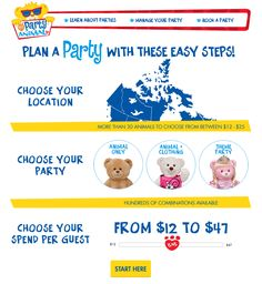 Build-A-Bear Workshop® - Party With Us!
