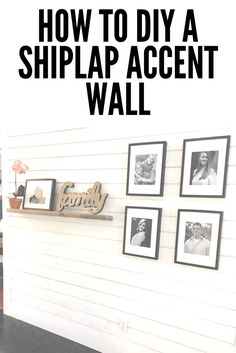 How To DIY A Shiplap