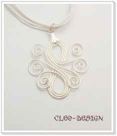 Cleo wire jewelry design - but would be awesome as a tattoo too
