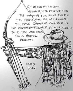 My first sketch in the archery series. Bow Hunting Tips, Elk Hunting, Archery Hunting, Turkey Hunting, Archery Range, Hunting Signs, Hunting Quotes, Pheasant Hunting, Archery Tips