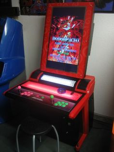 """Red Storm 32"""" LCD arcade cabinet Multi"""