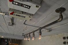 Beleuchtung industrielle Deckenleuchte Stahl von WestNinthVintage