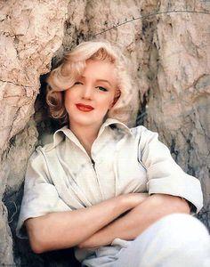 Marilyn Monroe photoshoot by Milton Greene.