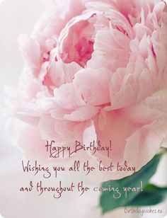 A collection of beautiful birthday wishes, warm greetings, sweet happy birthday congratulations and amazing images with greeting words.