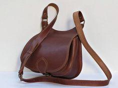 crossbody bag brown leather bag medium leather bag