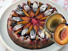 Podrobný recept na dort tvarožník se švestkami
