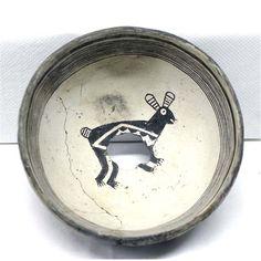 Prehistoric Mimbres Rabbit Bowl
