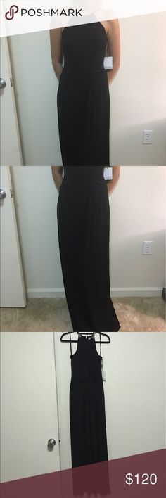 🎉CLEAR OUT Calvin klein chain collar maxi dress calvin klein chain collar maxi dress brand new with tags size 2 black with gold chain final sale. Offers accepted. NO TRADES.NO PAYPAL.NO LOWBALLING Calvin Klein Dresses Maxi