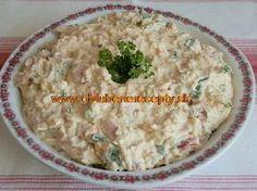 Výborná pomazánka Food 52, Hummus, Oatmeal, Snacks, Meals, Breakfast, Ethnic Recipes, Spreads, Homemade Hummus