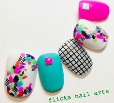 Cute mouses for kids! Who thought of this? Asian Nail Art, Asian Nails, Nailart, Happy Nails, Crazy Nails, Feet Nails, Japanese Nails, Toe Nail Designs, Toe Nail Art