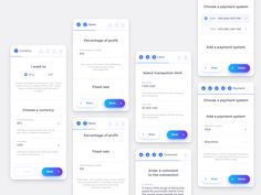 Mobile Exchange Step Form mobile app concept finance ethereum tokens app token bitcoin ico crypto ux design interface product cryptocurrency web ui blockchain Best Picture For App Design poster For Yo Ux Design, Form Design Web, Design Ideas, Mobile App Ui, Mobile App Design, Mobiles Webdesign, Ui Forms, App Form, Interface Design