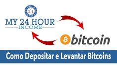 My24HourIncome - Depositar e Levantar Bitcoins (Coinbase) - Rui Magalhães