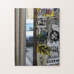 New York City Street Art Urban Photography NYC Jigsaw Puzzle - photography picture cyo special diy