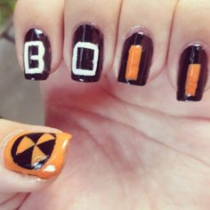 Lol sickness... Black Ops 2 nails!