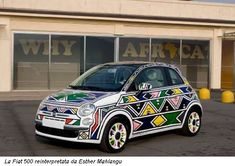 esther mahlangu car - Google Zoeken