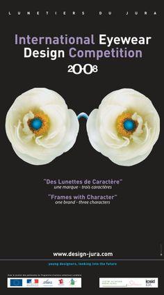 L'affiche officielle du Concours International du Design 2008