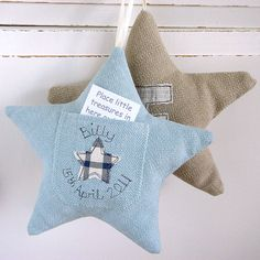 personalised tooth fairy pocket star by milly and pip. Great gift for a little boy. Copyright © milly and pip