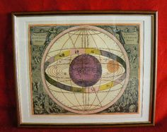 20131 $9999 or best offer - Harmonia Macrocosmica printed 1962 - framed - very rare - free shipping worldwide or pick up in sarchi costa rica. not a print h
