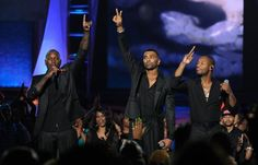 Tank, Ginuwine, Tyrese 'TGT' perform at Soul Train Awards 2012