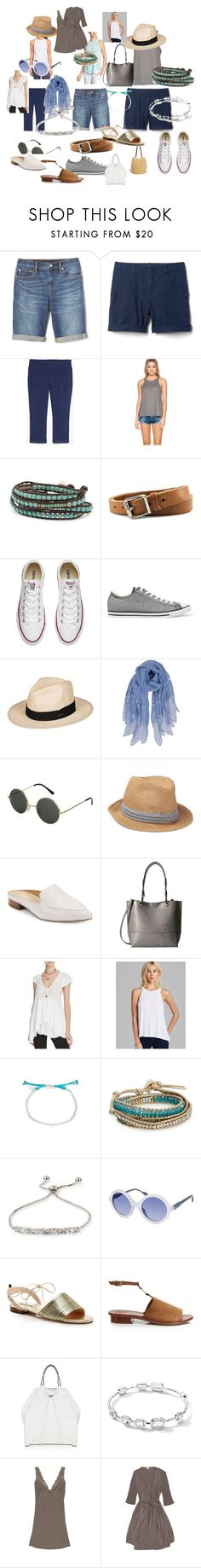 """Pack Day"" by sally-lewis on Polyvore featuring New Balance, Dsquared2, Athleta, Converse, Roxy, Humble Chic, Lord & Taylor, Calvin Klein, Free People and Gorjana"