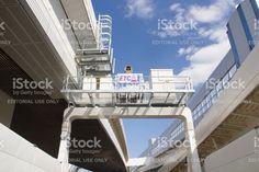 K7 Yokohama-Kitasen Walk & Run, ETC Gate - Stock image