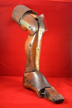 Antique Prostetic Leg Patent Model from 1879 Joseph O'Brian Kalamazoo Mich   eBay