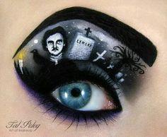 Gorgeous eye art by Tal Peleg Art of Makeup