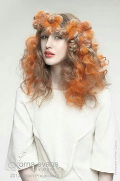 Evans Hairstyling College Amusing Big Hair Friday  Flowers Made Of Hair  Pinterest  Romance Big
