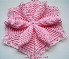 PINK ROSE CROCHET /: Flor Maravilhosa da Mary Dolls Crochê com Receita